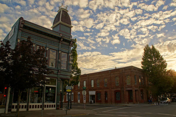 Rogue Valley Photograph - Late Afternoon At The Corner Of 5th And G by Mick Anderson