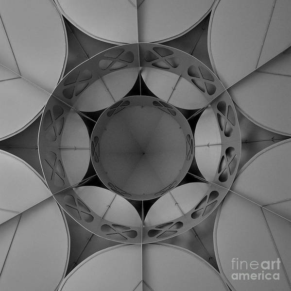 Saint Louis County Photograph - Laumeier Gazebo Abstract by Chris Brewington Photography LLC