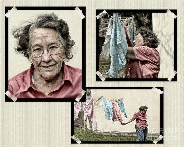 Photograph - Laundry Day by Terry Doyle