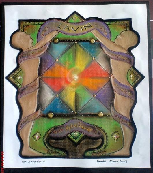Lavin Family Crest Art Print