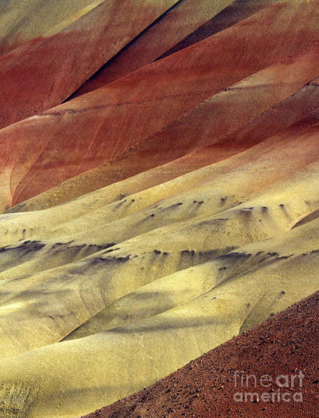 Painted Desert Photograph - Layers Of Red by Mike  Dawson