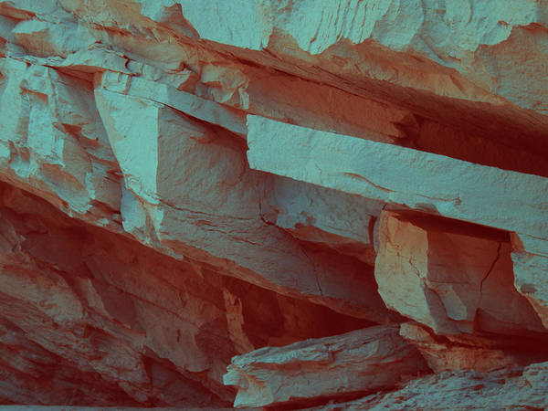 Death Valley Photograph - Layers Of Rock by Naxart Studio