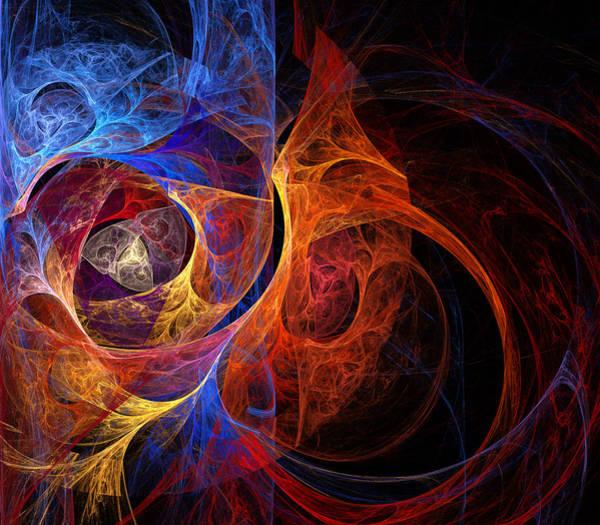 Web Digital Art - Layers by Ricky Barnard