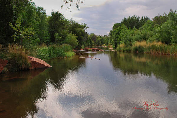 Wall Art - Photograph - Lazy River by Sheryl Cox