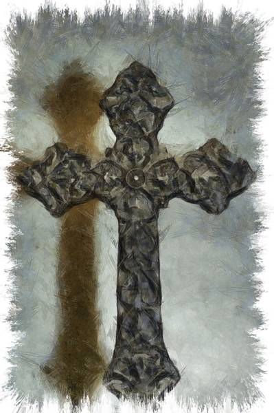 Mixed Media - Lead Me To The Cross 1 by Angelina Tamez