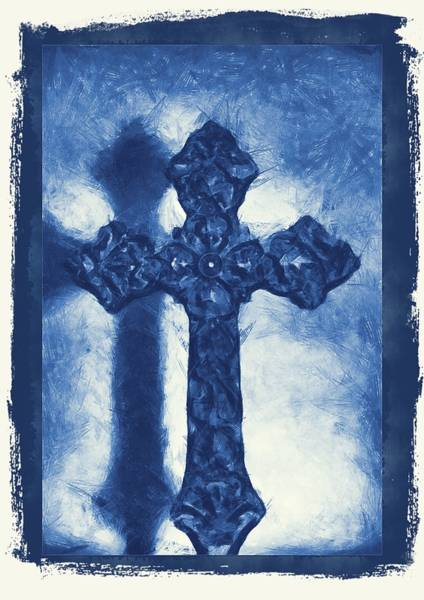 Mixed Media - Lead Me To The Cross 3 by Angelina Tamez