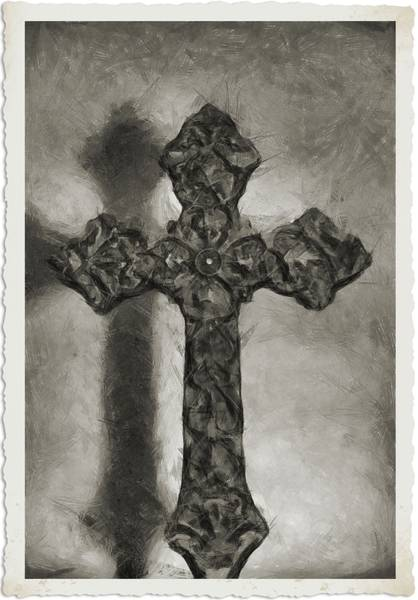 Photograph - Lead Me To The Cross 4 by Angelina Tamez