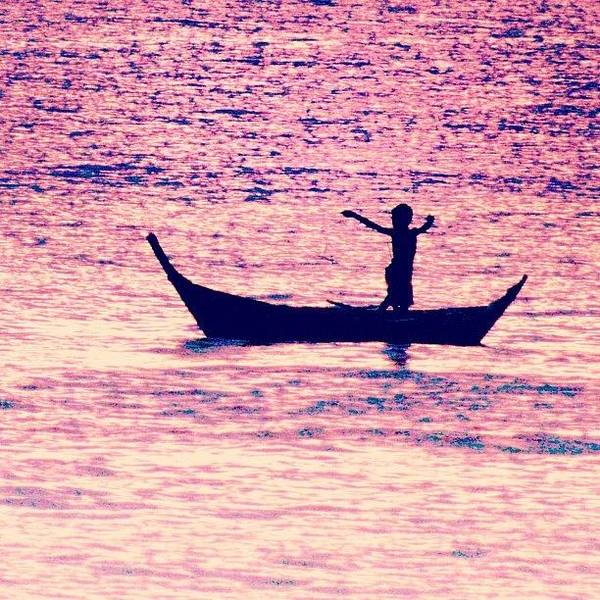 Travel Photograph - Learning To Fly.. #thailand #boat by A Rey