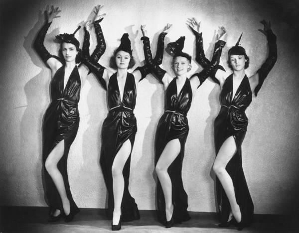 Revue Photograph - Leather Dancers by Sasha