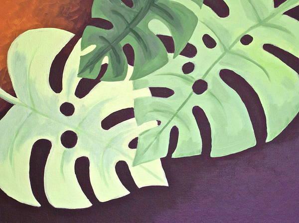 Coolidge Painting - Leaves by Sara Coolidge