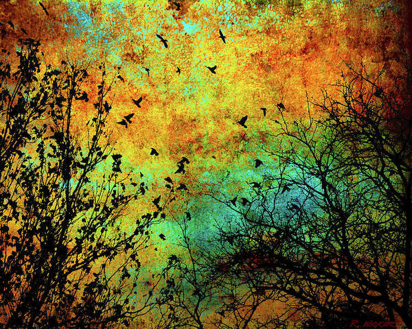 Leaves To Feathers Art Print