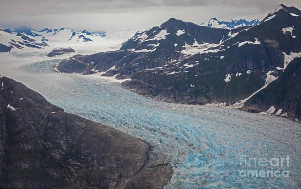 Petersburg Photograph - Leconte Glacial Flow by Mike Reid