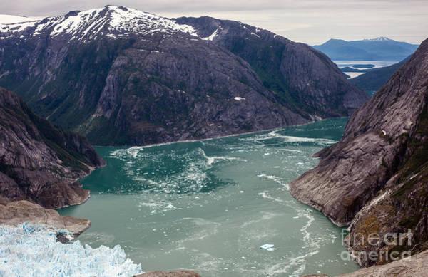 Petersburg Photograph - Leconte Glacier by Mike Reid