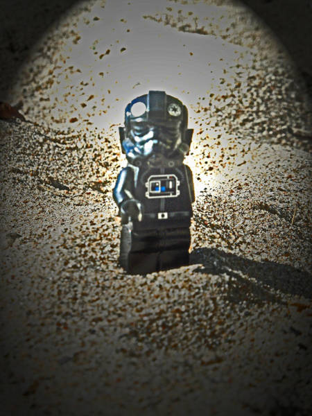 Photograph - Lego Pilot by Cyryn Fyrcyd