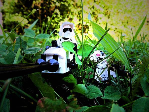 Photograph - Lego Star Wars 1 by Cyryn Fyrcyd