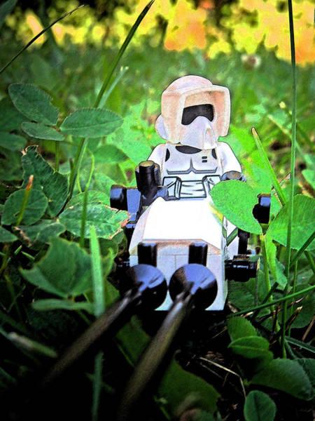 Photograph - Lego Star Wars 3 by Cyryn Fyrcyd
