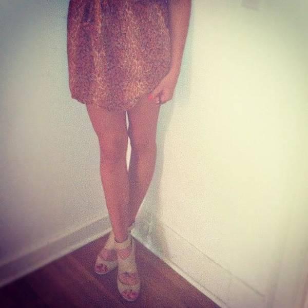Wall Art - Photograph - #legs #pose #girl #female #heels #shoes by Jenna Luehrsen