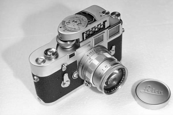 Photograph - Leica M3 by Dragan Kudjerski