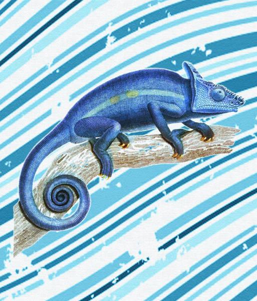 Lizards Digital Art - Leo Loves Lizards by Nikki Marie Smith