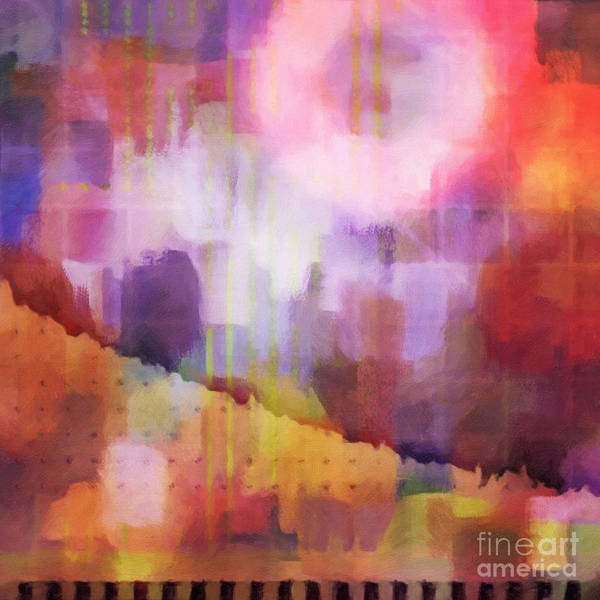Penetrate Painting - Let It Shine by Lutz Baar