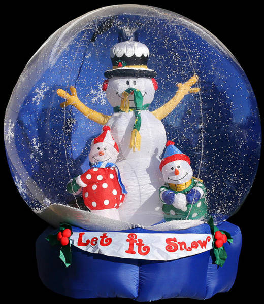 Weihnachten Photograph - Let It Snow by Christine Till