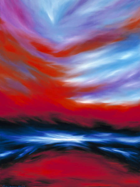 Painting - Let There Be Light by James Christopher Hill