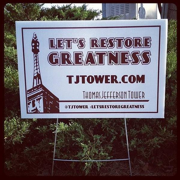 Politicians Wall Art - Photograph - Let Us Know Where You See One! by Thomas Jefferson Tower