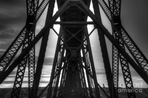 Lethbridge Photograph - Lethbridge High Level Bridge 2 by Bob Christopher