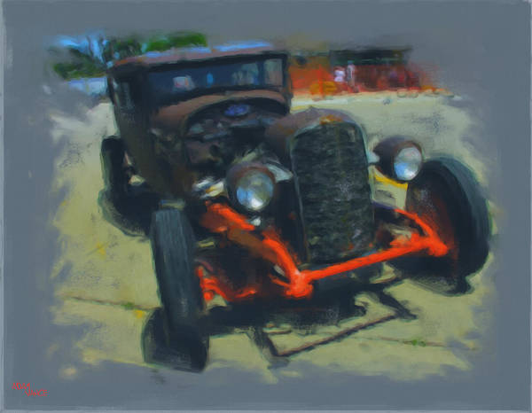 Outdoors Mixed Media - Let's Ride by Adam Vance