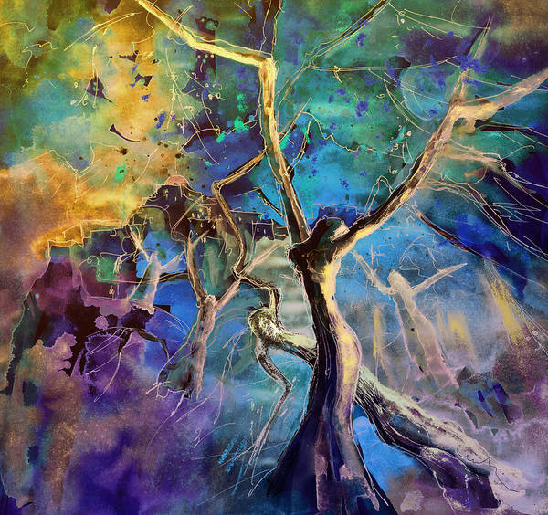 Painting - Letting Go by Miki De Goodaboom