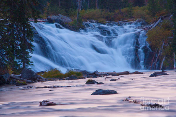 Photograph - Lewis Falls - Evening Twilight by Katie LaSalle-Lowery