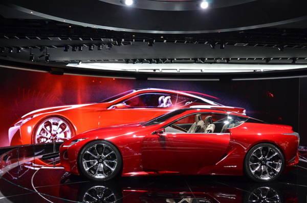 Photograph - Lexus Lf-lc by Randy J Heath