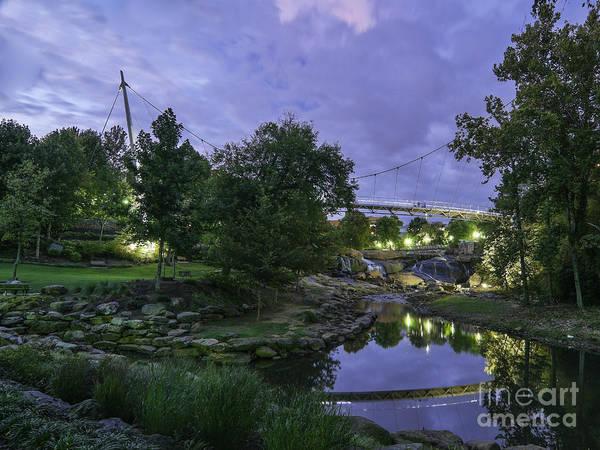 Photograph - Liberty Bridge II by David Waldrop