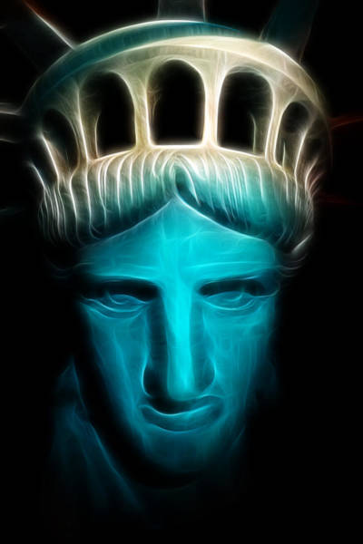 Statue Of Liberty National Monument Wall Art - Photograph - Liberty Enlightening The World - Statue Of Liberty - Usa - America by Lee Dos Santos