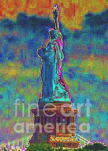 Wall Art - Photograph - Liberty In Color by Dennis Curry
