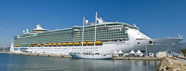 Photograph - Liberty Of The Seas by Richard Henne