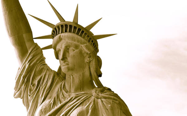 Photograph - Liberty Up Close by Alice Gipson