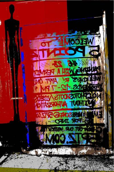 Wall Art - Mixed Media - L.i.c by Noredin Morgan