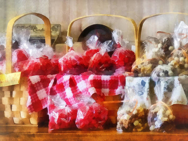 Photograph - Licorice And Chocolate Covered Peanuts by Susan Savad