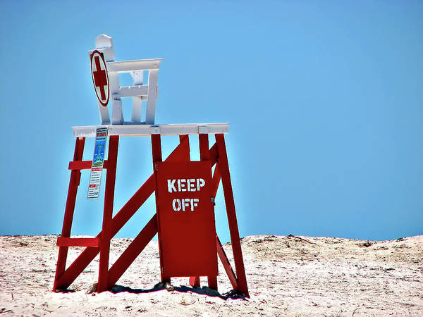 Photograph - Life Guard Stand by Carolyn Marshall