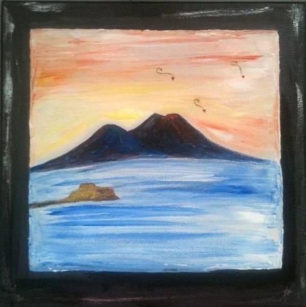 Painting - Life Under The Vesuvius by Antonella Manganelli