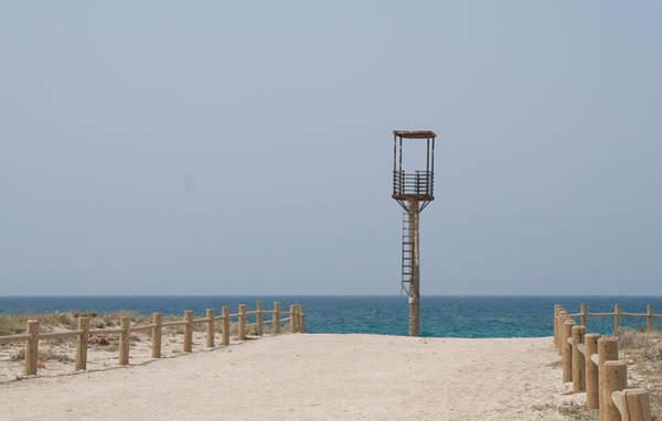 Lifeguard Tower Cabo De Gata Art Print