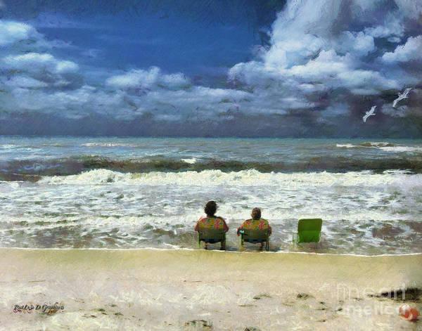 Digital Art - Life's A Beach by Rhonda Strickland