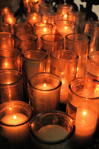 Photograph - Light Of One Hundred Candles by Sarah Broadmeadow-Thomas