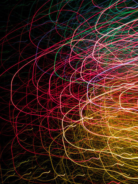 Hakon Photograph - Light Painting 6 by Hakon Soreide