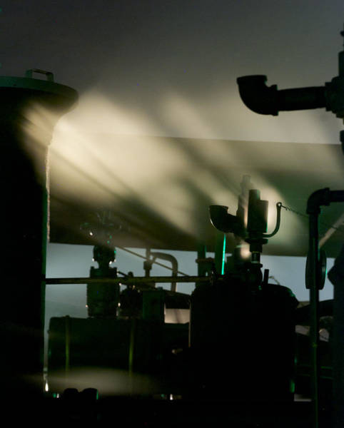 Photograph - Lighted Steam by Mark Dodd