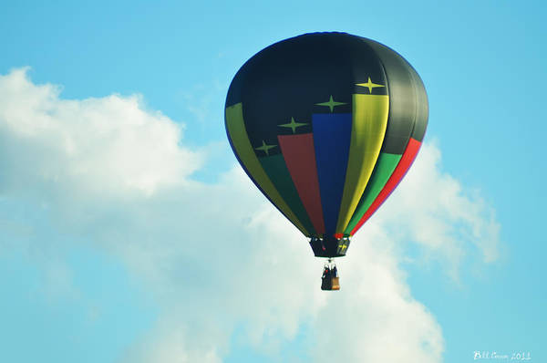 Photograph - Lighter Than Air by Bill Cannon