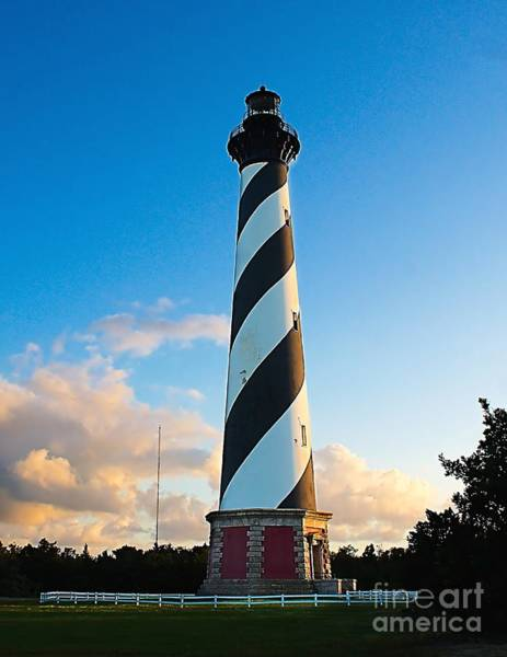 Photograph - Lighthouse At Cape Hattreas by Nick Zelinsky