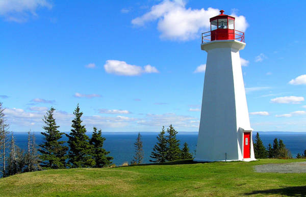 Photograph - Lighthouse On Nova Scotia by Pat Moore