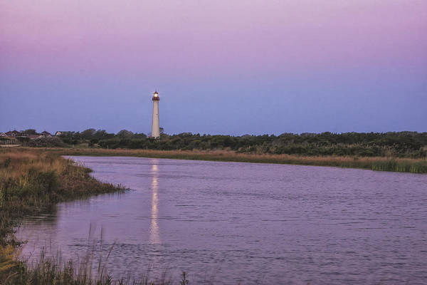 Photograph - Lighthouse Reflection by Tom Singleton